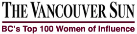 The Vancouver Sun - B.C.'s Top 100 Women of Influence