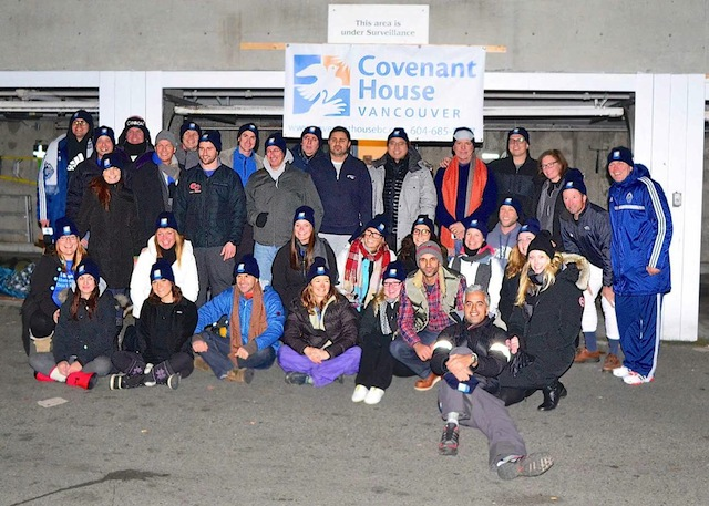 Covenant House Sleep Out1
