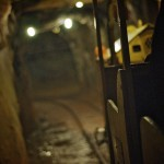 Inside the Britannia Mine tunnels. Photo by John Bollwitt