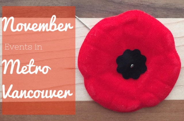 November Events in Metro Vancouver