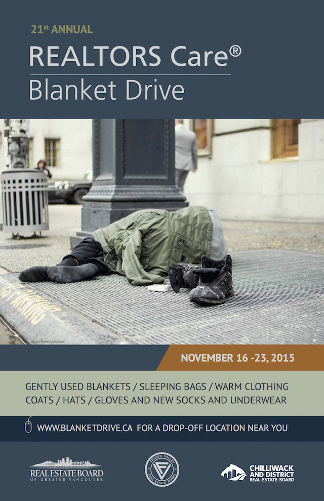 Where To Donate Warm Clothing And Blankets 187 Vancouver