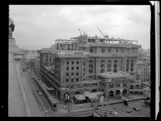 1949 second hotel vancouver demolition