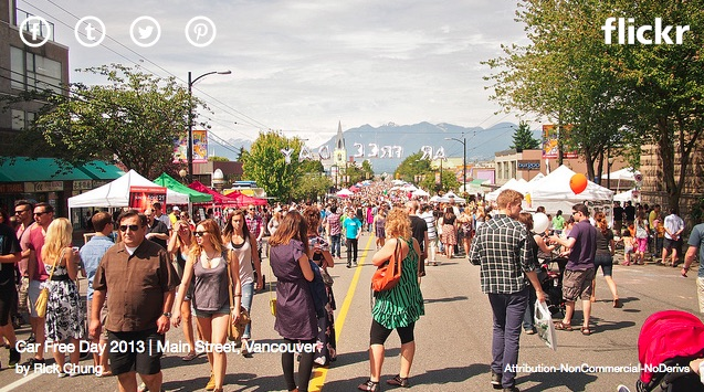 Car Free Day 2015-2016 Photo by Rick Chung