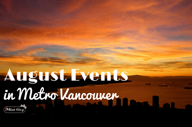 August Events in Vancouver