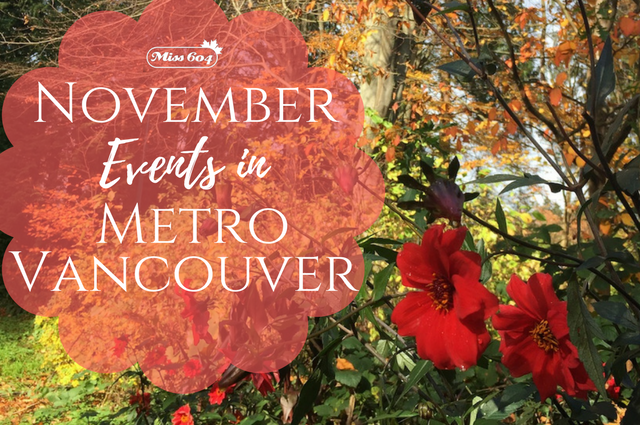 Vancouver Events in November