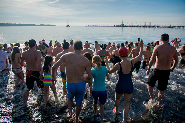 White Rock Polar Bear Swim