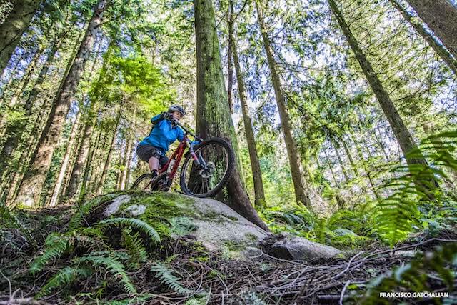 Mountain Biking in Coquitlam - Francisco Gatchalian Photo