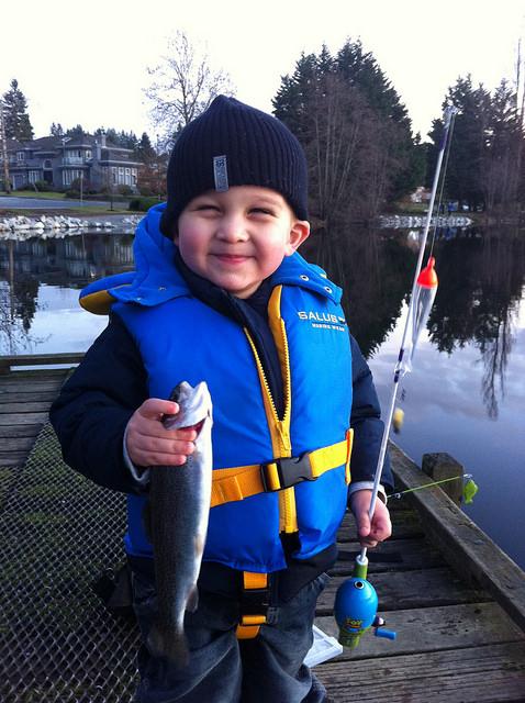 Coquitlam Fishing Kids