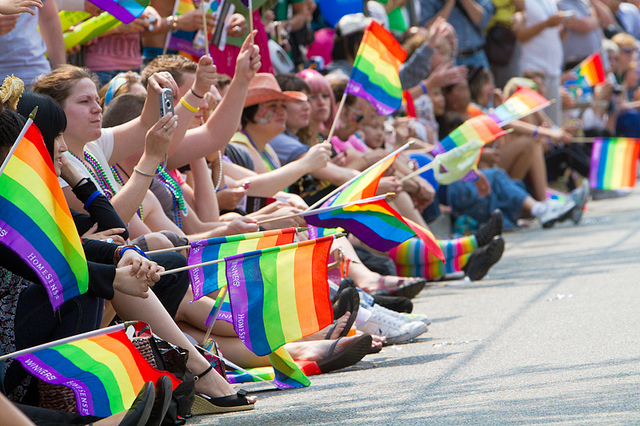 Vancouver Pride Parade. Photo by Tyler Ingram.