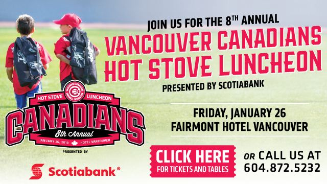 Vancouver Canadians Hot Stove Luncheon