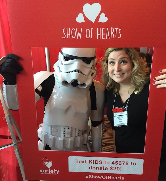 Variety BC's Show of Hearts Telethon 2018 Stormtrooper