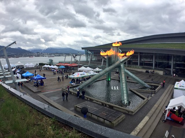 Vancouver Olympic Cauldron Lighting