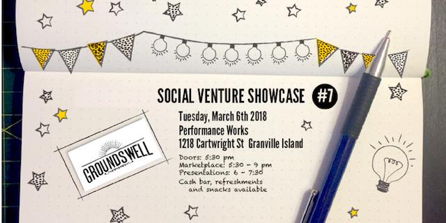 Groundswell Social Venture Showcase
