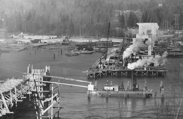 Second Narrows Construction