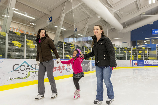 Coquitlam Family Day - Skating