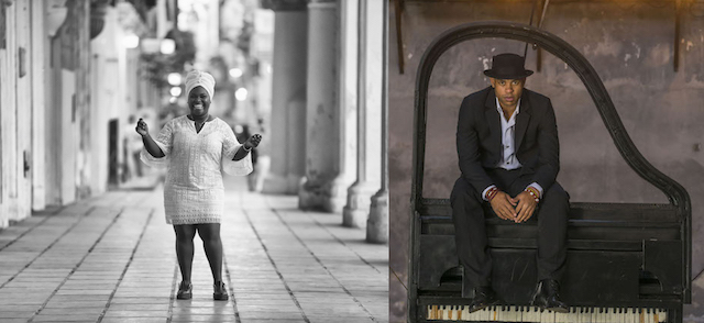 Daymé Arocena and Roberto Fonseca at The Chan Centre