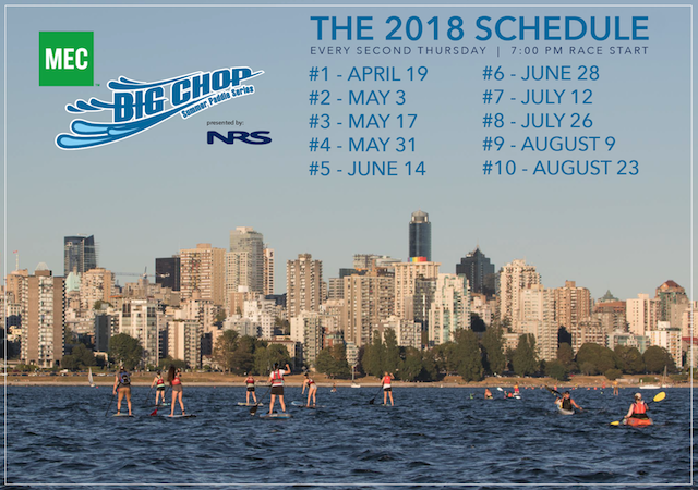 MEC Big Chop Summer Paddle Series