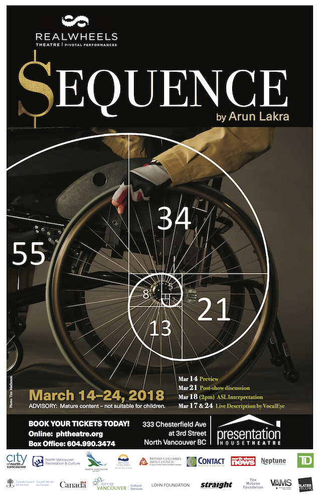 Realwheels Theatre Presents SEQUENCE