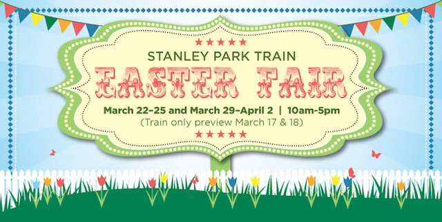 Easter Fair at the Stanley Park Train