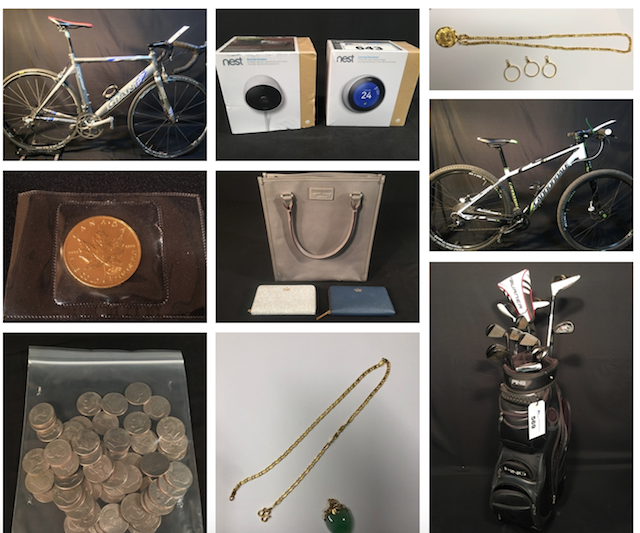 VPD Recovered Goods Auction