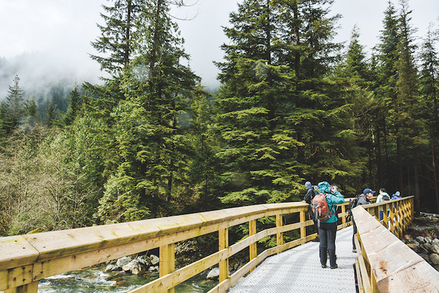 A hike to Gold Creek and Alder Flats in Golden Ears Provincial Park