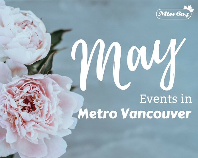 Virtual May Events in Metro Vancouver