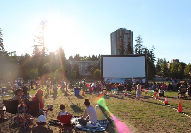 Movies Under the Stars in Surrey