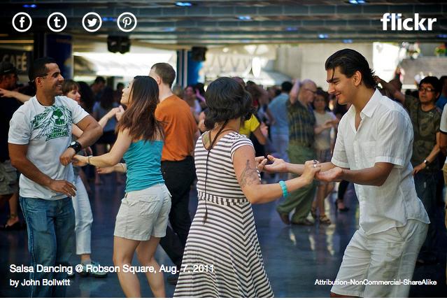 Salsa Dance Robson Square