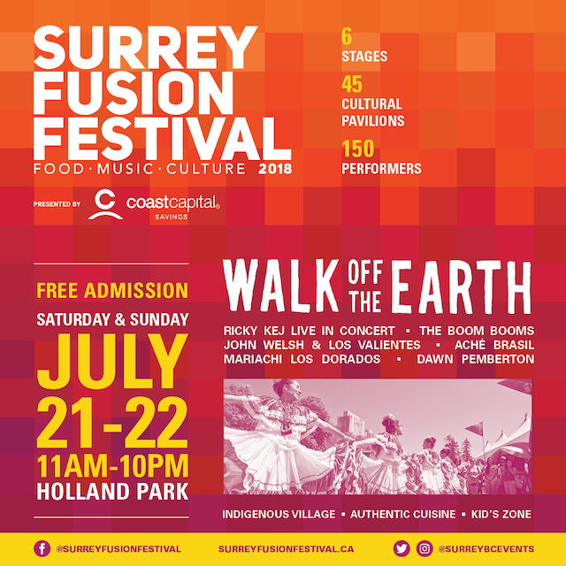 Surrey Fusion Festival 2018