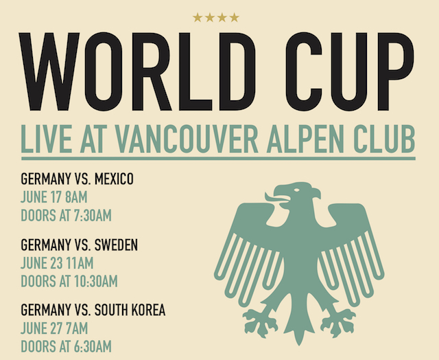 World Cup at the Vancouver Alpen Club 2018