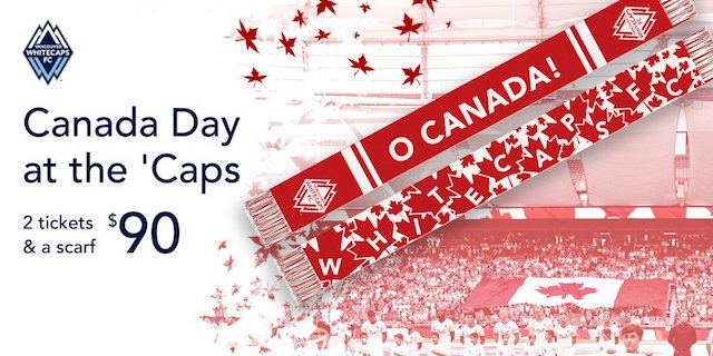 Canada Day with Whitecaps FC
