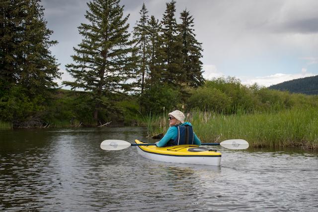 Kayaking 100 Mile House