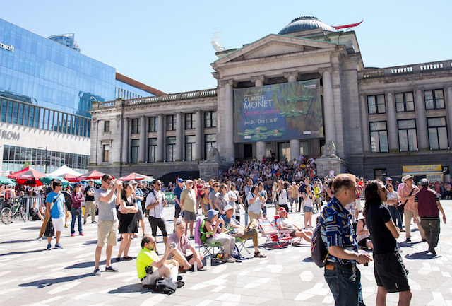 Vancouver Art Gallery North Plaza