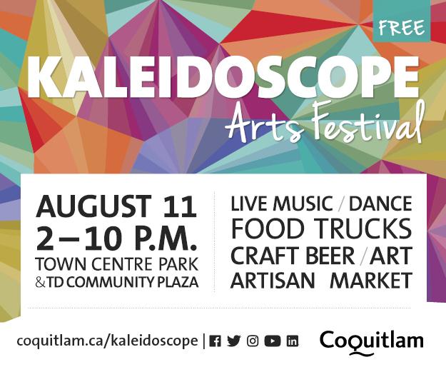 Kaleidoscope Arts Festival Coquitlam