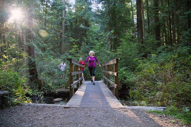 Coquitlam Mundy Park Running