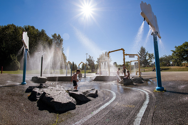 Coquitlam Spray Park