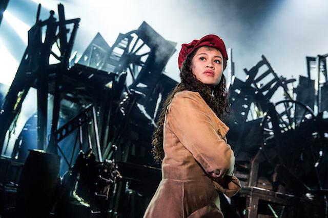 Les Miserables Emily Bautista as Eponine