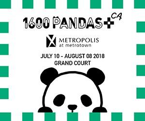 1600 Pandas+ at Metropolis at Metrotown