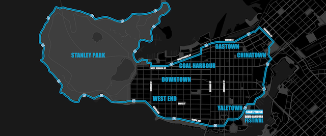 Our CityRide Vancouver Map 2018