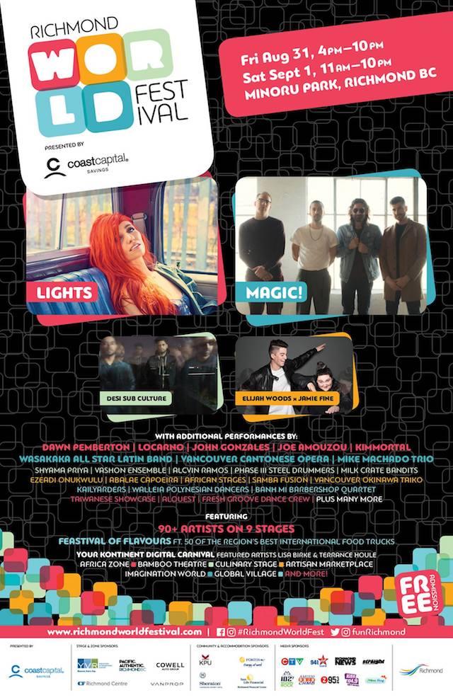 Richmond World Festival 2018