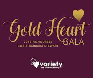 Gold Heart Gala for Variety BC