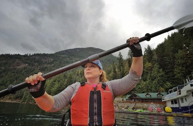 Rebecca Bollwitt Kayak Homfray Lodge