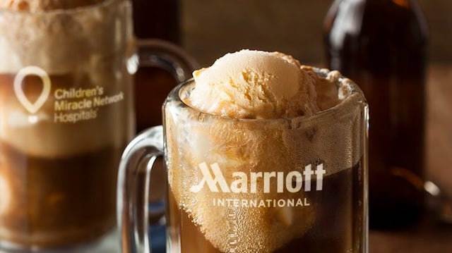 Marriott Root Beer Float Day