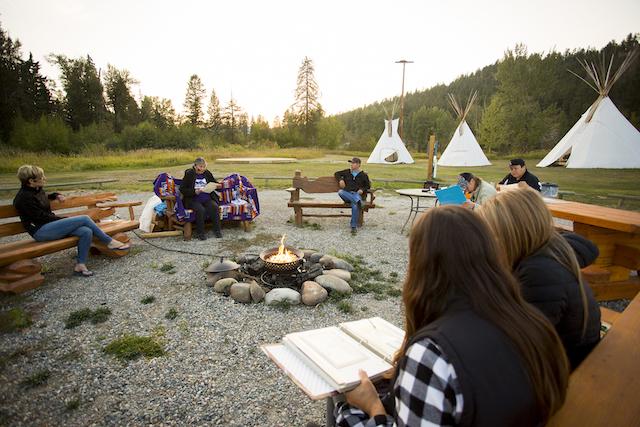 Ktunaxa Nation's Speaking Earth in St. Eugene, BC - Abby Cooper Photo