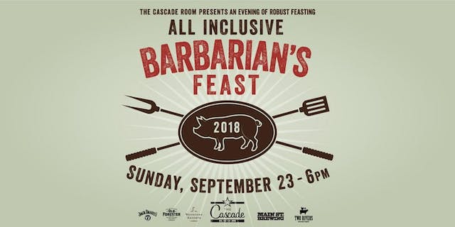 Barbarian's Feast Banner