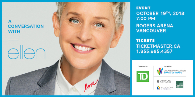 Play Your Way to Ellen at Metropolis at Metrotown