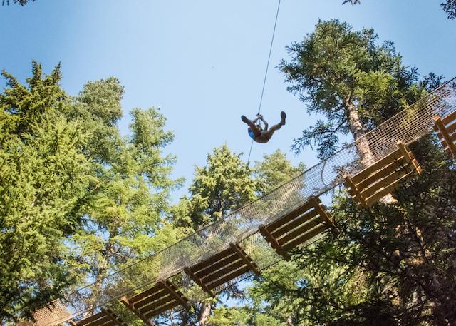 Grouse Mountain's New Mountain Ropes Adventure