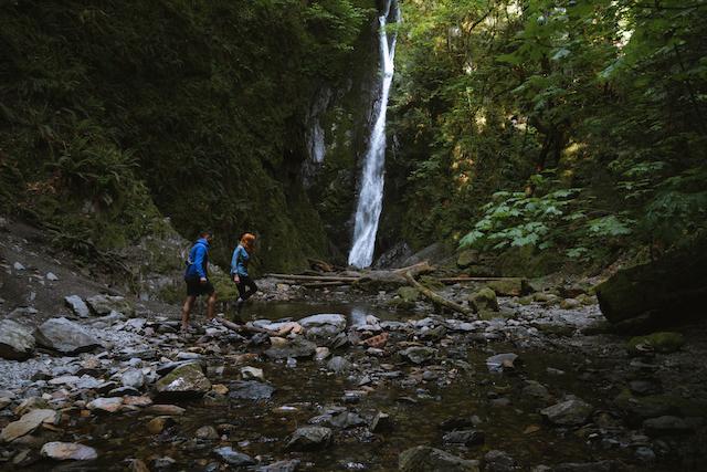 Goldstream Park waterfall 1