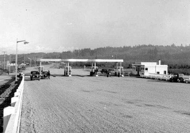 Pattullo Toll Booths