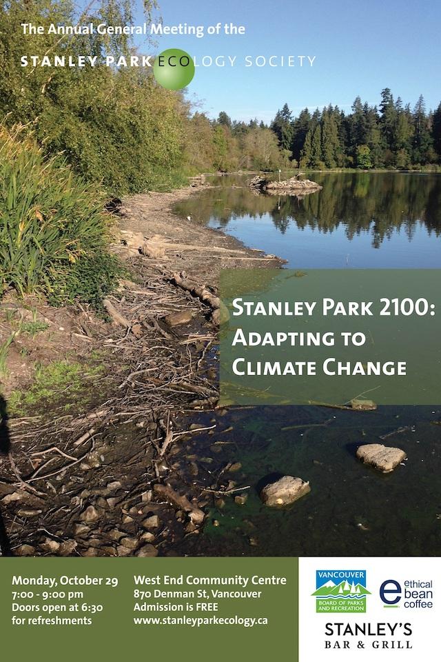 Stanley Park Ecology Society AGM 2018